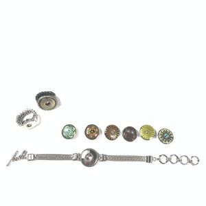 Giner Snaps Interchangeable bracelet two rings